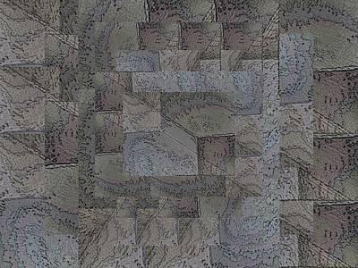 Digital Art - Facade 4 by Tim Allen