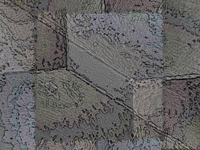 Digital Art - Facade 7 by Tim Allen