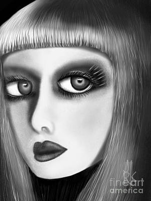 Digital Art - Face Of Beauty by J Kinion