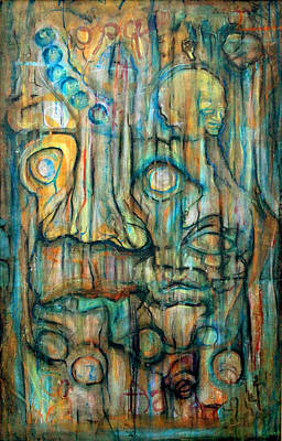 Insanity Painting - Face Of Insanity by Calvin Armitage