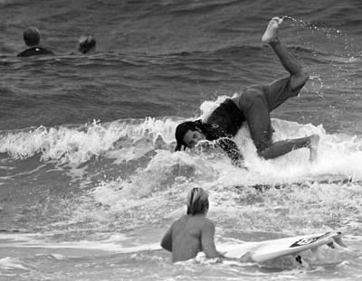 Surfer Magazine Photograph - Face Plant by Michael Gora
