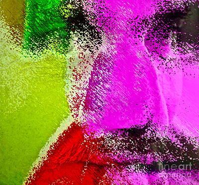 Oscar Wilde Digital Art - Face To Face by Gwyn Newcombe