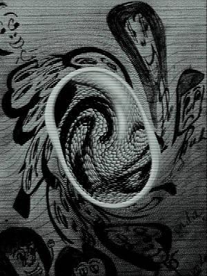 Faces Art Print by HollyWood Creation By linda zanini
