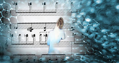 Facing The Music Art Print by Catherine Morgan