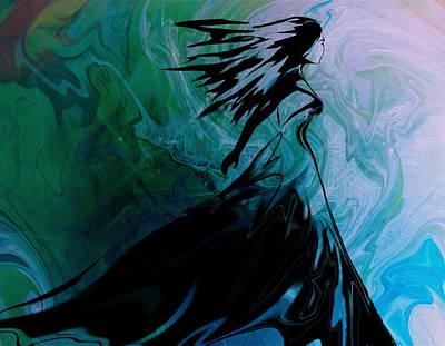 Digital Art - Facing the Wind by Kume Bryant