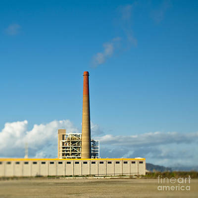 Dogpatch Photograph - Factory With Smokestack by Eddy Joaquim