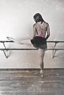 Faded Ballerina Art Print by Scott Sawyer