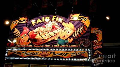 Twinkie Photograph - Fair Food by Louisa Griffith