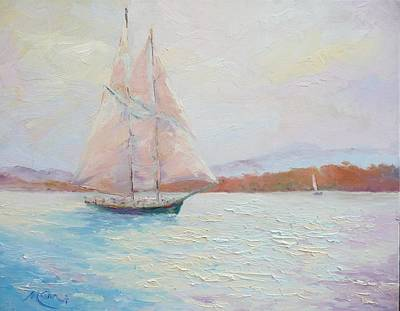 Marie Green Painting - Fair Winds by Marie Green