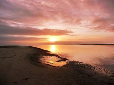 Photograph - Fairborne Sunset by Ed Lukas