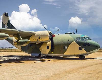 Photograph - Fairchild C-123  by Steve Benefiel