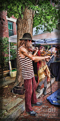 Photograph - Faire Performers by Joan  Minchak