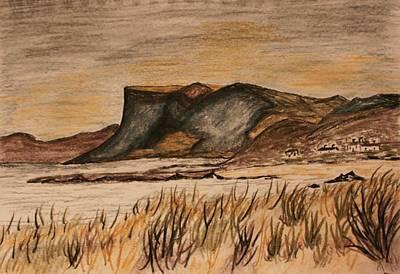 Paul Morgan Painting - Fairhead  Ballycastle by Paul Morgan