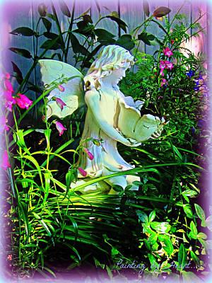 Fairy Girl Art Print