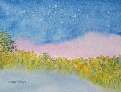 Fairy Mist Art Print by Sharon Farber