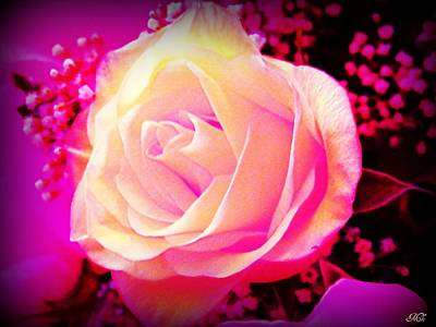 Art Print featuring the photograph Fairy Rose by Michelle Frizzell-Thompson