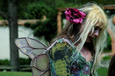 Photograph - Fairy by Teresa Blanton