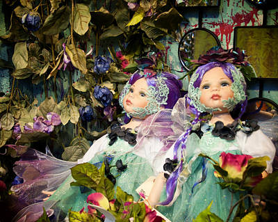 Photograph - Fairy Twins by Diane Wood