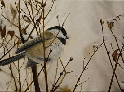 Faithful Winter Friend Art Print