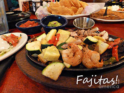 Photograph - Fajitas by Methune Hively