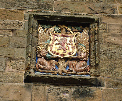 Photograph - Falkland Palace Entrance Detail by Richard James Digance