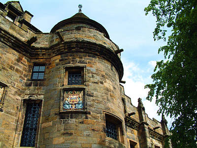 Photograph - Falkland Palace Turret by Richard James Digance