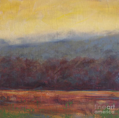 Smokey Mountains Painting - Fall Abstract by Amy Welborn