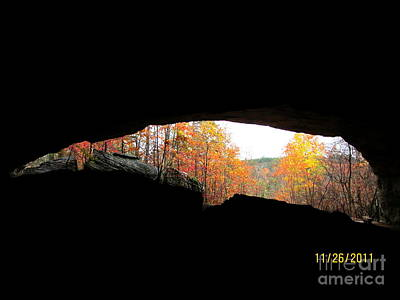 Photograph - Fall At The Cave by Kim Henderson