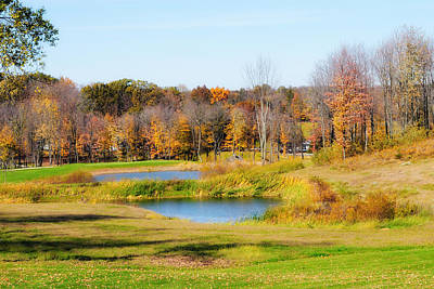 Photograph - Fall At The Ponds by John Kiss
