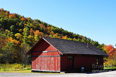 Fall Color Pickens West Virginia Art Print by Thomas R Fletcher