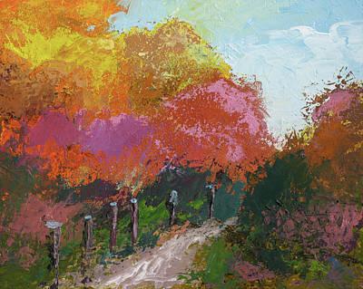 Fall Color Art Print by Robert Bissett