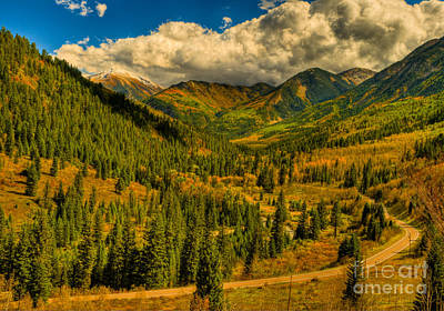 Photograph - Fall Colors At Mcclure Pass by Harry Strharsky