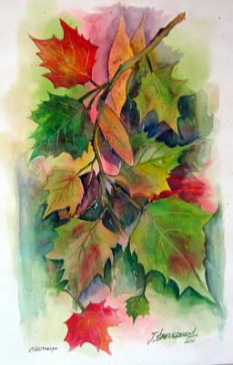 John Smeulders Painting - Fall Colors by John Smeulders
