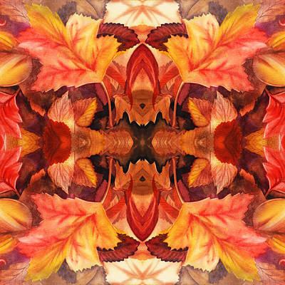 Fall Decor Art Print by Irina Sztukowski