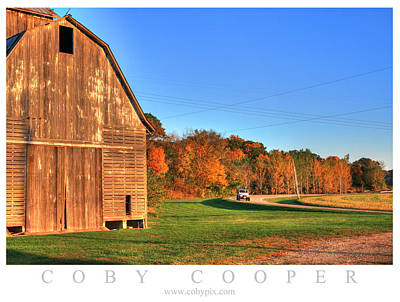 Photograph - Fall Drive by Coby Cooper