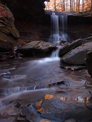 Autum Photograph - Fall Falls by Allan Wrona