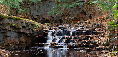 Photograph - Fall Falls by Paul Svensen