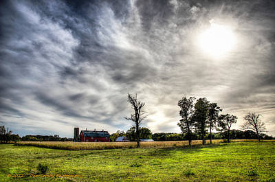 Photograph - Fall Farm View by Dan Crosby