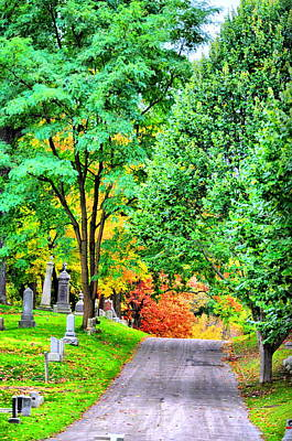 Photograph - Fall Graveyard by Emily Stauring