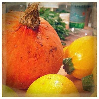 Foodie Wall Art - Photograph - Fall Harvest Squash Hall! #foodies by Jennifer Augustine