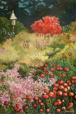 Painting - Fall In The Botanical Gardens by Fran Kelly