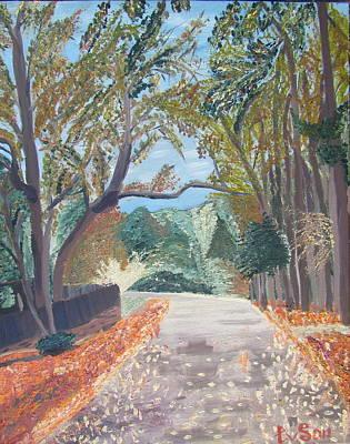 Fall In Tyler Art Print by Evgeniya Sohn Bearden