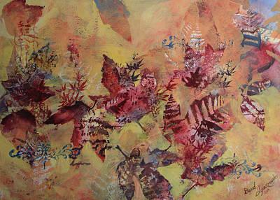 Fall Maples Art Print by David Ignaszewski