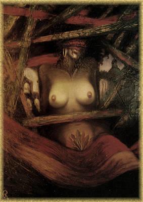 Fall Of Man Art Print by Galeria Rossmore