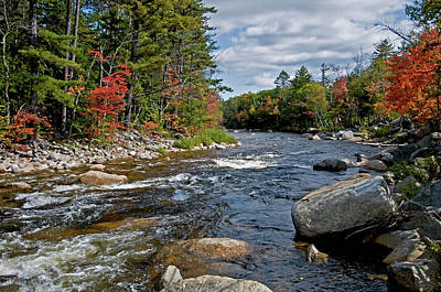 Photograph - Fall On Swift River by Paul Mangold