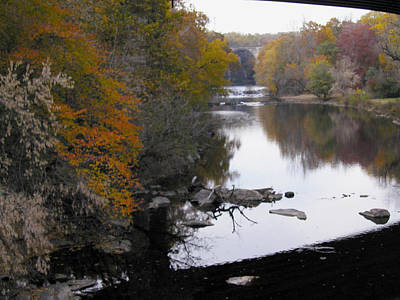 Photograph - Fall On The Brandywinew by Emery Graham