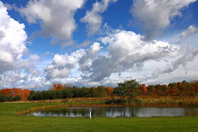Photograph - Fall Pond by Kevin Schrader