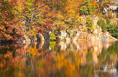 Photograph - Fall Reflections by Cindy Lee Longhini