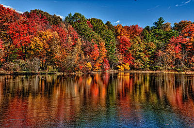 Photograph - Fall Reflections by Fred LeBlanc