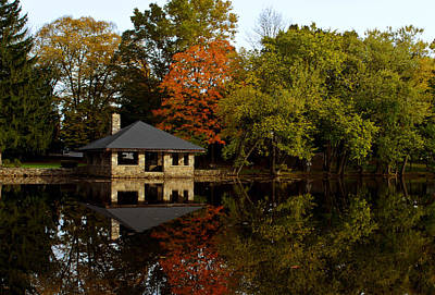 Photograph - Fall Reflections by Laura DAddona